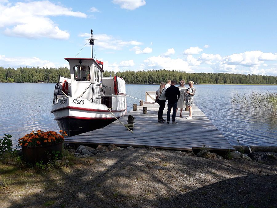 Come see southern Savonia's provincial lake with Puula Tours cruises!